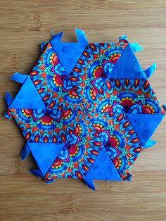 "Katja Marek's The New Hexagon - Millefiore Quilt-Along: Rosette 8: ""block 4…"
