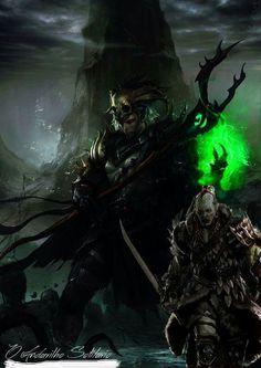 O mestre da morte.