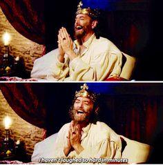 King Richard in Galavant = me with my best friends