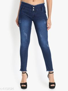 Jeans Women High Waist Skinny Fit Denim Jeans Fabric: Denim Multipack: 1 Sizes: 34 (Waist Size: 34 in Length Size: 40 in)  28 (Waist Size: 28 in Length Size: 40 in)  30 (Waist Size: 30 in Length Size: 40 in)  32 (Waist Size: 32 in Length Size: 40 in) Country of Origin: India Sizes Available: 28, 30, 32, 34   Catalog Rating: ★3.9 (511)  Catalog Name: Pretty Fashionista Women Jeans CatalogID_928262 C79-SC1032 Code: 065-6102526-8541
