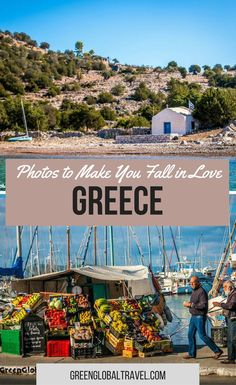 Here are 40 photos to make you fall in love with Greece! | Europe | Travel | Greek | Photo Gallery |