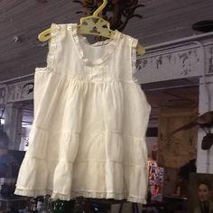 Adorable 1940's Fine Cotton Girl's Dress by 3birdz on Etsy