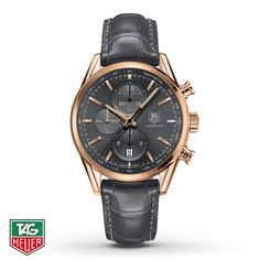 TAG Heuer Men's Watch Automatic Chronograph CARRERA 1887