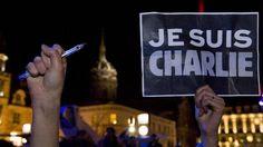 """""""Je suis Charlie"""", la consigna que inundó las calles de Francia. (AFP)"""