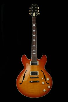 Collings I-35 Deluxe in Flame Maple. Best guitar makers in the world.