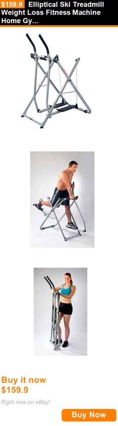 Ski Machines 28061: Elliptical Ski Treadmill Weight Loss Fitness Machine Home Gym Equipment Tool BUY IT NOW ONLY: $159.9