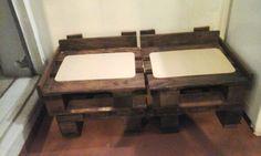 Base para sofá de paletes   Oficina Ronah Arte Reciclada