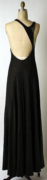 Dress Designer: Geoffrey Beene  (American, Haynesville, Louisiana 1927–2004 New York) Date: fall/winter 1993–94 Culture: American Medium: wool, leather Dimensions: Length at CB: 60 in. (152.4 cm) Credit Line: Gift of Geoffrey Beene, 2001
