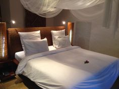 Dreamy bed at the Paradise Resort, Yao Noi, Thailand
