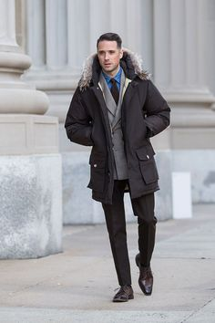 Down with the Cold: The Arctic Parka