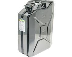 Kraftstoffkanister Metall 20 l, schwarz