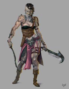 Frankenwoman commission by Toramarusama on DeviantArt