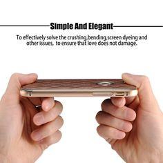 Leder Hülle für iphone 6 6S , G-i-Mall Rot: Amazon.de: Elektronik