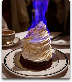 All Things Food: Baked Alaska, The most AWESOME dessert EVER!!!!!!