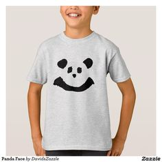 Panda Face Childs Tee  Available on more products! Type in the name of the design in the search bar on my Zazzle Products Page. Thanks for looking!   #tee #shirt #t-shirt #clothes #fashion #childs #children #kid #men #women #adult #unisex #sweatshirt #shirt #long #sleeve #hoody #jacket #girl #boy #fun #zazzle #buy #sale #cute #cuddly #panda #bear #cartoon #illustration #black #white #drawing #nature #planet #earth #animal #friend