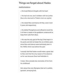 """6,571 Likes, 141 Comments - Kat (@damdemigodposts) on Instagram: """"My godly parent is hades"""""""