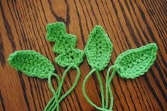 leaves 101 free crochet spring patterns ♡ Teresa Restegui http://www.pinterest.com/teretegui/ ♡