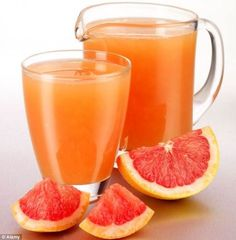 1 large grapefruit (ripe) 1 tbsp honey, organic Drink this after every meal and you will loose weight extremely fast