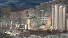 """La nuova illuminazione dell'area archeologica della capitale affidata al direttore della fotografia di """"Apocalypse Now"""", """"Reds"""" e"""