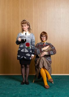 Vice Twin Peaks: Lucy & Log Lady