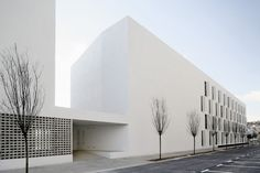 Image 14 of 50 from gallery of 85 Sheltered Housing Units for Senior and Public Facilities / Photograph by Adrià Goula Facade Architecture, Residential Architecture, Contemporary Architecture, Amazing Architecture, Chinese Architecture, Sheltered Housing, Residential Complex, Famous Architects, Social Housing