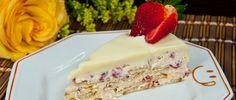 Torta Alemã de Morango