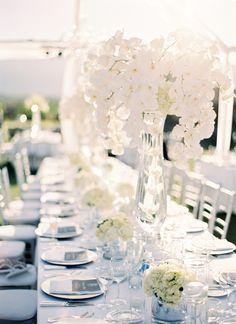 Idée déco mariage blanc - all white wedding