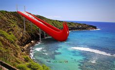 Nike Inflatable Slide - Just Experience It