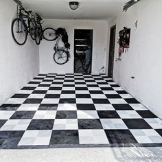 Fast and simple. In only 2 hour you can install this amazing floor by yourself. Dyi Flooring, Tile Floor, Home Decor, Flooring, Garage Floor, Garage, Contemporary Rug
