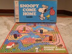 Snoopy Come Home Game by Milton Bradley