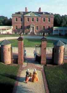 Tryon Palace  New Bern, NC...the first permanent capitol of North Carolina. Location shoot for television's Sleepy Hollow.