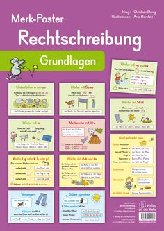 German knowledge at a glance - Class - Elementary Education German Grammar, German Language Learning, Learn German, Educational Websites, Home Schooling, Elementary Education, Classroom Management, Kids And Parenting, Kids Learning