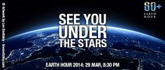 Life with a side of coffee: Earth Hour TODAY + A Giveaway 4/1/14