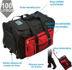 Portwest The Multi-Pocket Trolley Bag, Regular, Black >>> Be sure to check out this helpful article. Hand Luggage Suitcase, Luggage Deals, Childrens Luggage, Trolley Bags, Le Web, Travel Tote, Gym Bag, Card Holder, Backpacks