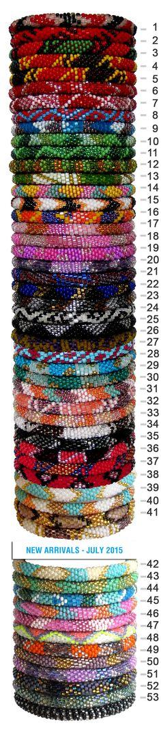 Lotus Light Himalaya - Roll-on-Bracelets - Tribal