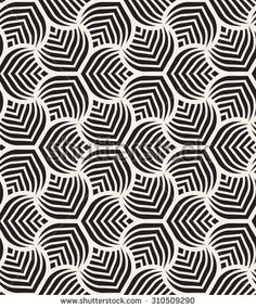Vector seamless pattern. Monochrome graphic design. Decorative geometric leaves. Regular floral background with elegant petals. Modern stylish ornament. www.lab333.com www.facebook.com/pages/LAB-STYLE/585086788169863 http://www.lab333style.com https://instagram.com/lab_333 http://lablikes.tumblr.com www.pinterest.com/labstyle