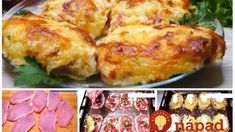 Oravské rezne: Výborné zapekané mäso s hubami a bohatou oblohou – 30 minút a sú na stole, tromfnú aj klasiku v trojobale! Food And Drink, Meat, Chicken, Beef, Cubs