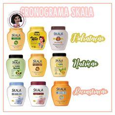 ⚡CRONOGRAMA SKALA ⚡ . A Skala é uma das marcas de produtos capilares mais acessíveis, que ultimamente explodiu com seus lançamentos… Long Curly Hair, Curly Hair Styles, Bad Hair Day, Spa Day, Hair Care, How To Make, Instagram, Beauty, Amanda