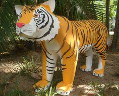 Piñata de Tigre, especial para fiestas temáticas @bpdisenos y facebook bpdisenos.