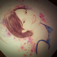 BiBackes #portrait#colourpencils
