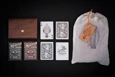 Antler Playing Cards on Packaging of the World - Creative Package Design Gallery