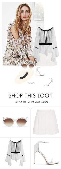 """""""Summer love..."""" by katelyn999 ❤ liked on Polyvore featuring Gabor, Thierry Lasry, Chloé, Emilio Pucci and Maison Michel"""
