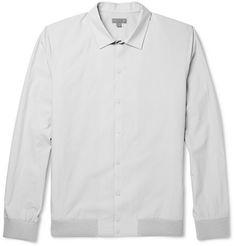 COSCotton-Poplin Shirt Jacket