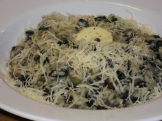 My Mushroom & Truffle Risotto Truffle Mushroom, Gluten Free Treats, Fabulous Foods, Pasta Dishes, Truffles, Allrecipes, Risotto, Entrees, Main Dishes