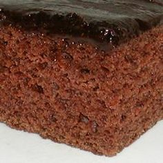 This recipe is from allrecipes.com, but my mom has made mayonnaise cake many times when I was a kid.... delicious!