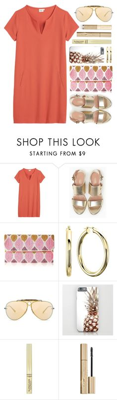 OOTD - Tangerine by by-jwp on Polyvore featuring Hartford, Max&Co., From St Xavier, Ray-Ban, L'Oréal Paris and Dolce&Gabbana