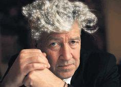 David Lynch's sparkly hair http://ow.ly/JCLQA