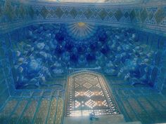 Uzbekistan - Inside the Tamerlan's tombstone in Samarkand