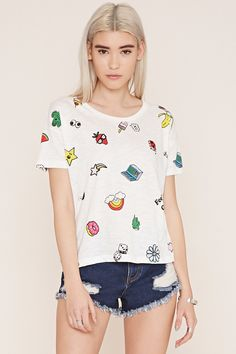 Feelin Good Graphic Tee - New Arrivals T-Shirts + Vests - 2000187145 - Forever 21 EU English