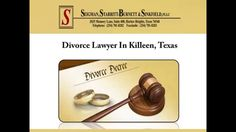 If you are looking for a divorce lawyer in Killeen, consider Seigman, Starritt-Burnett & Sinkfield, PLLC. The lawyer provides assistance in filing the petition, temporary orders hearing, settlement negotiation etc. To schedule a free initial consultation with the divorce lawyer, visit: http://www.killeenattorneys.com